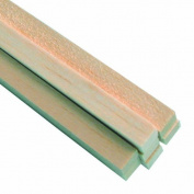 Midwest Products 6088 Micro-Cut Quality Balsa Strip Bundle, 1cm by 1cm