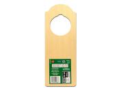 New Image Group Wood Turning Shapes Bulk-door Hanger 23cm - 1.3cm