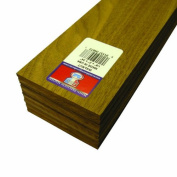 Midwest Products 4673 Project Woods Genuine American Black Walnut Sheets, 24 x 7.6cm x 0.3cm