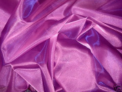 Pink Purple 2tone Sparkle Organza 140cm Wide By the Yard