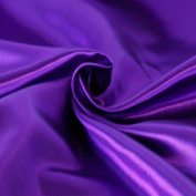 SOLID SATIN FABRIC - PURPLE - 150cm WIDTH - SOLD BTY