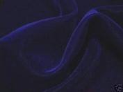 Navy Blue Velvet Fabric 110cm By the Yard