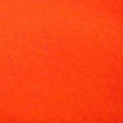 Crafty Cuts 1-1/2-Yards Fleece Fabric, Orange Solid
