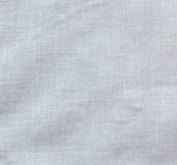 Voile 110cm Wide 65% Poly 35% Cotton Fabric by the Yard - White