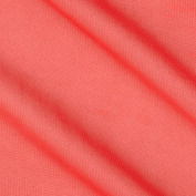 Chiffon Knit Coral Fabric By The YD