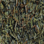 True Timber Camo Flooded Timber Fabric by The Yard, 150cm Wide, Multi-Colour