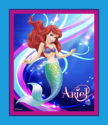 Springs Creative - Fabric Disney Mermaid Panel Fabric, Sold by The Yard, 2.5cm , Turquoise