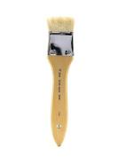 Silver Brush 5514S-112 Alpine White Goat Hair Short Handle Brush, Wide Wash Blender, 3.8cm
