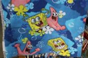 Spongebob Fleece Fabric 150cm Width By the Yard