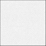 Zweigart 25Ct Lugana Evenweave-46cm X 70cm Needlework Fabric - White