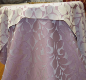 Lillian Collection Fabric, Floral Design Colour Lilac 150cm Sold By the Yard