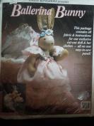 Daisy Kingdom Ballerina Bunny Fabric & Instructions #9825