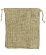 30cm x 36cm Natural Jute Favour Bags - 10 Pack