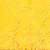 Faux Fur Luxury Shag Yellow Fabric