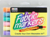 Colortime Crafts and Markers Fabric Markers Economy Pack- Pastel
