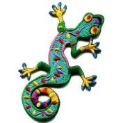Lizard Gekko Salamander Retro Hippie Hippy Boho 70s Applique Iron-on Patch