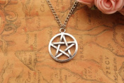 Supernatural Inspired Necklace,retro Silver Pentagram Pendant Bracelet, Amulet Necklace