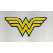 Wonder Woman Embroidered Iron on Patch