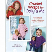 Leisure Arts Crochet Wraps For Dolly And Me