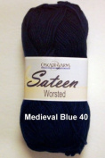 Sateen Worsted Yarn #40 Mediaeval Blue by Cascade Yarns