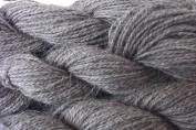 Natural Heather Grey 100% Wool Worsted Weight Yarn