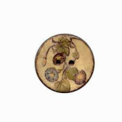 Buttons.etc Exotic Buttons, 12601/64 - Vines