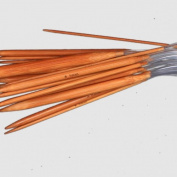 Ostart 18 Pairs 40'' (100cm) Circular Carbonised Bamboo Knitting Kits Needles Set