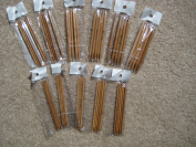 6 size 15cm BrilliantKnitting (BR brand) double pointed bamboo knitting needles US 0-5