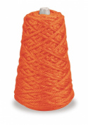 Trait-tex 4-Ply Jumbo Roving Yarn Refill Cone, Orange, 87 Yards