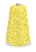 Trait-tex 4-Ply Jumbo Roving Yarn Refill Cone, Yellow 87 Yards
