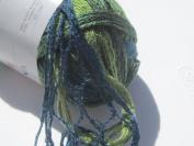 Katia Triana Greens 50 Ruffling Scarf Yarn