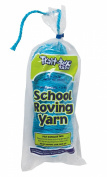 Trait-tex 3-Ply School Roving Yarn Skein, Lite Blue, 150 Yards