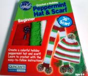 Peppermint Hat & Scarf Learn to Crochet