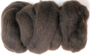 Woolpets felting roving wool chocolate