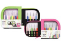 Knitter-s Pride Crochet Hooks Sets, Waves with Green Case