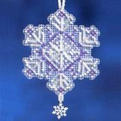 Amethyst Crystal - Beaded Cross Stitch Ornament Kit - MH162303