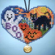 Love Halloween - Beaded Cross Stitch Ornament Kit - MH163105