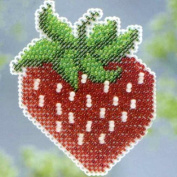 Strawberry - Beaded Cross Stitch Kit MH183106