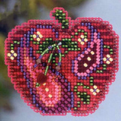 Jewelled Apple - Mill Hill Beaded Cross Stitch Kit MH183202
