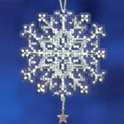 Star Crystal - Beaded Cross Stitch Ornament Kit - MH162302