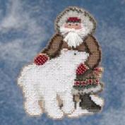 Nunavut Santa - Arctic Circle Santas - Cross Stitch Kit