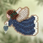 Indigo Angel - Cross Stitch Kit