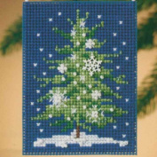 Snowflake Tree - Cross Stitch Kit