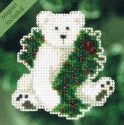 Holiday Polar Bear - Cross Stitch Kit