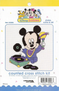 Disney Babies Mickey Mouse Counted Cross Stitch Kit Shake, Rattle & Roll #32006