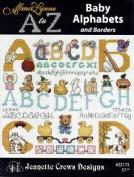 A to Z Baby Alphabets - Cross Stitch Pattern