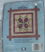 Star Quilt with Frame - Country Collectibles Traditions - T8623