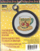 Mary Engelbreit Counted Cross Stitch Kit - Coffee Cup