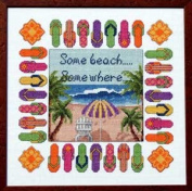 Pegasus Originals Beach Escape Counted Cross Stitch Chartpack