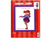 Red Hat Society Counted Cross Stitch Kit IT'S ALL ABOUT ME